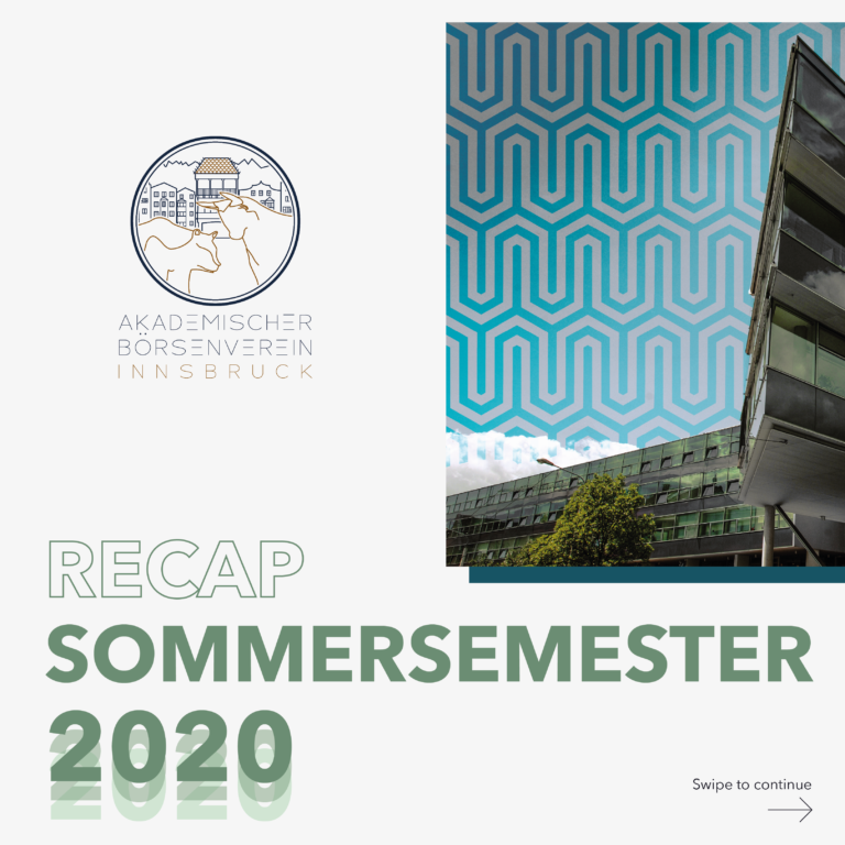 Recap Sommersemester 2020